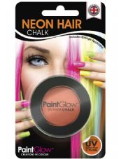 Paint Glow Neon UV Hair Chalk - Orange